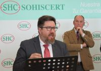 Sánchez Haro ha asistido en Almería a la inauguración de las nuevas instalaciones de la certificadora Sohiscert
