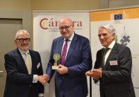 Asaja y la Cámara de Comercio de Córdoba llevan a Bruselas la preocupación por el arancel contra la aceituna negra