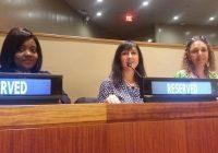 La agricultora almeriense, Inmaculada Idáñez, defiende los derechos de las mujeres rurales en la ONU