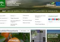 Agricultura actualiza la web de la Red de Alerta e Información Fitosanitaria para adaptarla mejor a las necesidades del usuario