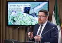 La Ley de Agricultura reforzará la posición de los profesionales y fomentará la protección del suelo agrario en Andalucía