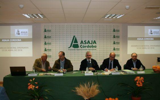 Asaja Córdoba celebra su asamblea anual con preocupación por los aranceles de EE.UU y la reforma de la PAC