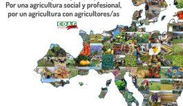 """COAG inicia en Bruselas la campaña """"Más Europa, mejor Europa: por una agricultura social y profesional, por un agricultura con agricultores/as"""""""