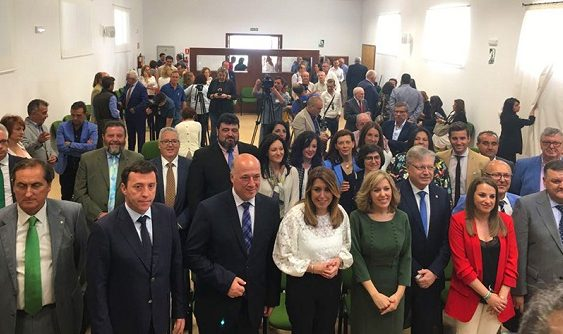 Susana Díaz inauguró la XIX edición de la Feria del Olivo de Montoro