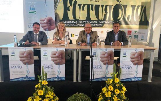 Agricultura incidirá en el uso eficiente del agua con otros 47,1 millones de euros en ayudas a la modernización de regadíos