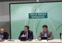 Sánchez Haro abogar por hacer frente común para influir en la negociación europea y lograr una PAC justa para Andalucía