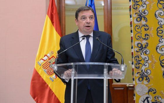 """Luis Planas: """"La pesca es una prioridad para  este Gobierno en el """"brexit"""" y nos estamos  preparando para cualquier escenario posible"""""""
