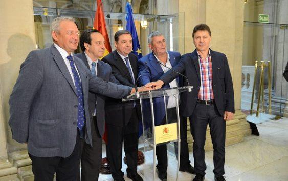 Luis Planas agradece a las organizaciones agrarias su apoyo a una propuesta de posición común para la reforma de la PAC