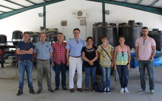 La reunión de lanzamiento del proyecto de innovación REUTIVAR se celebró en Montilla
