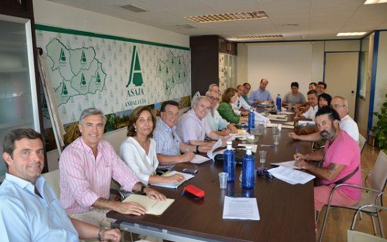 ASAJA-Sevilla y CCOO firman la renovación del convenio provincial del campo hasta 2021