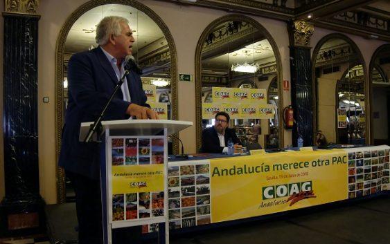 COAG-A denuncia que Andalucía pierde más de 1.000 millones con esta PAC