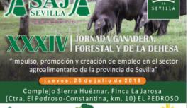ASAJA-Sevilla celebra el próximo 26 de julio su XXXIV Jornada Ganadera