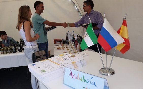 Empresas Agroalimentarias Andaluzas promocionan sus productos de la mano de Extenda en `Taste of Moscow´