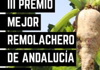 El próximo 19 de septiembre se celebra la III edición del Premio 'Mejor Remolachero de Andalucía 2018' en Los Palacios y Villafranca