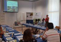Las cooperativas oleícolas de la provincia invitaron a degustar el AOVE onubense en Agrocosta 2018