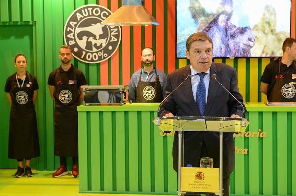 Luis Planas confía en que MEAT ATTRACTION se consolide como un foro de negocio y comercialización de la industria cárnica