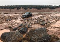 El Gobierno andaluz destina 37,7 millones de euros a las primeras obras de emergencia por el temporal de lluvias