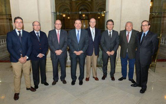 Luis Planas se reúne con la Ejecutiva de Asaja Córdoba