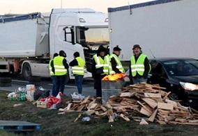 COAG denuncia bajadas injustificadas de precios por los bloqueos de camiones en Francia