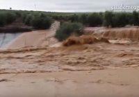 VÍDEO: Destrozos en los caminos rurales andaluces a causa de las lluvias