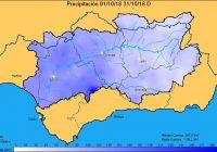 El primer mes del año hidrológico cierra con un 25% más de precipitaciones con respecto a la media de los últimos 25 años
