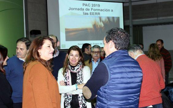 Carmen Crespo asiste en Sevilla a las jornadas formativas para la presentación de la Solicitud Única de la PAC 2019