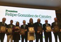 Asaja Córdoba, La Voz de Córdoba y el Cabildo Catedral entregan los premios 'Felipe González de Canales' al sector agrario