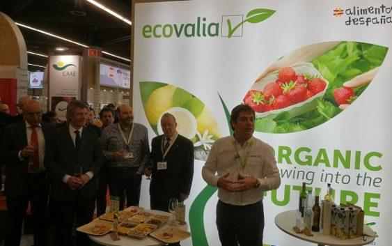 Ecovalia presenta al mercado internacional la marca `Organic Spain´