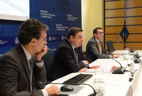 Luis Planas apuesta por el trabajo conjunto entre organismos científicos, Administraciones y Estados contra la Xylella fastidiosa