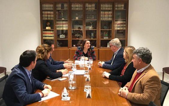 UPA Andalucía se reúne con la consejera apostando por diálogo, compromiso e impulso a la agricultura familiar