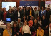 Carmen Crespo resalta la importancia de hacer visibles  a las mujeres que trabajan en el sector pesquero