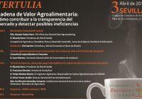 El próximo 3 de abril se celebrará en Sevilla la tertulia 'Desayunos Business Agro'