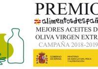 """El Ministerio de Agricultura concede el """"Premio Alimentos de España Mejores Aceites de Oliva Virgen Extra, campaña 2018-2019"""""""