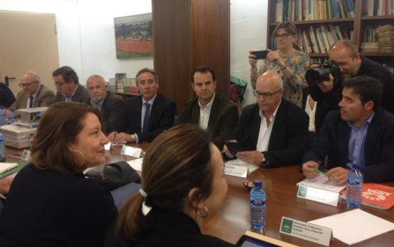 COAG Andalucía valora positivamente el compromiso de Carmen Crespo de cumplir las reivindicaciones del sector olivarero