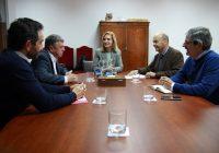 La Plataforma recibe el respaldo al desdoble del túnel San Silvestre de la Subdelegación del Gobierno en Huelva