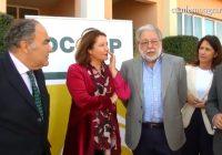 VÍDEO: Carmen Crespo visitó la planta de transformación y envasado de aceitunas de Dcoop en Dos Hermanas