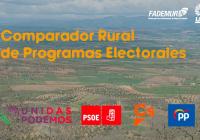 UPA y FADEMUR reeditan el comparador rural de programas electorales para el 28A