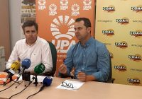 COAG y UPA convocan una concentración el 29 de mayo en Jaén para protestar por los bajos precios en origen del aceite de oliva