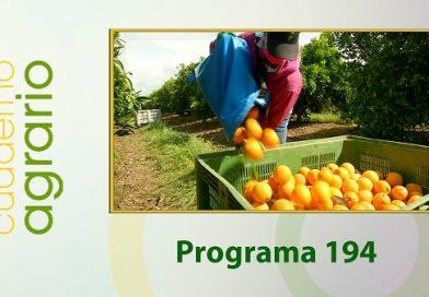 Cuaderno Agrario PGM 194