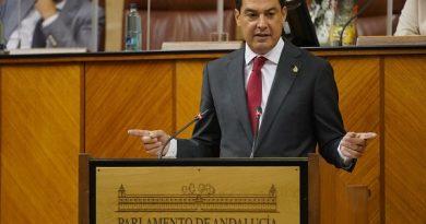 Moreno considera una oportunidad histórica apoyar que Andalucía reciba los máximos recursos posibles para la recuperación