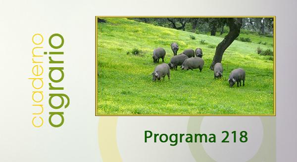 Cuaderno Agrario PGM 218