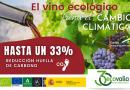 Ecovalia destaca el valor de la producción ecológica de vino en Andalucía