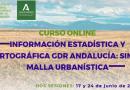"""ARA organiza el curso """"Información Estadística y Cartográfica para los GDR de Andalucía: SIMA y Malla Urbanística"""""""